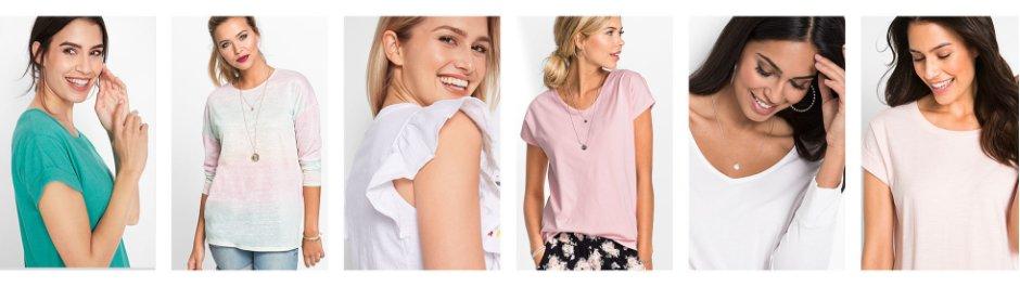 7d9d1c57 Dame - Mote - T-skjorter - T-skjorter med rund hals