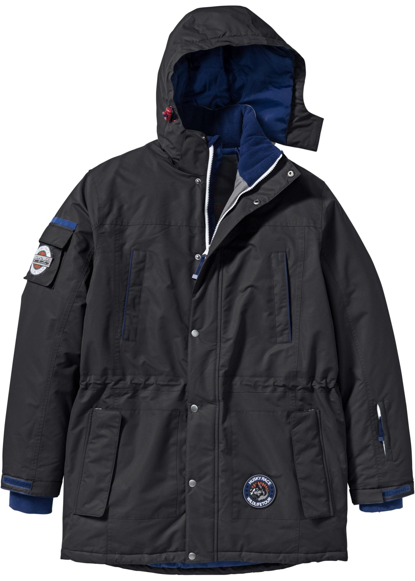 Lang jakke, normal passform