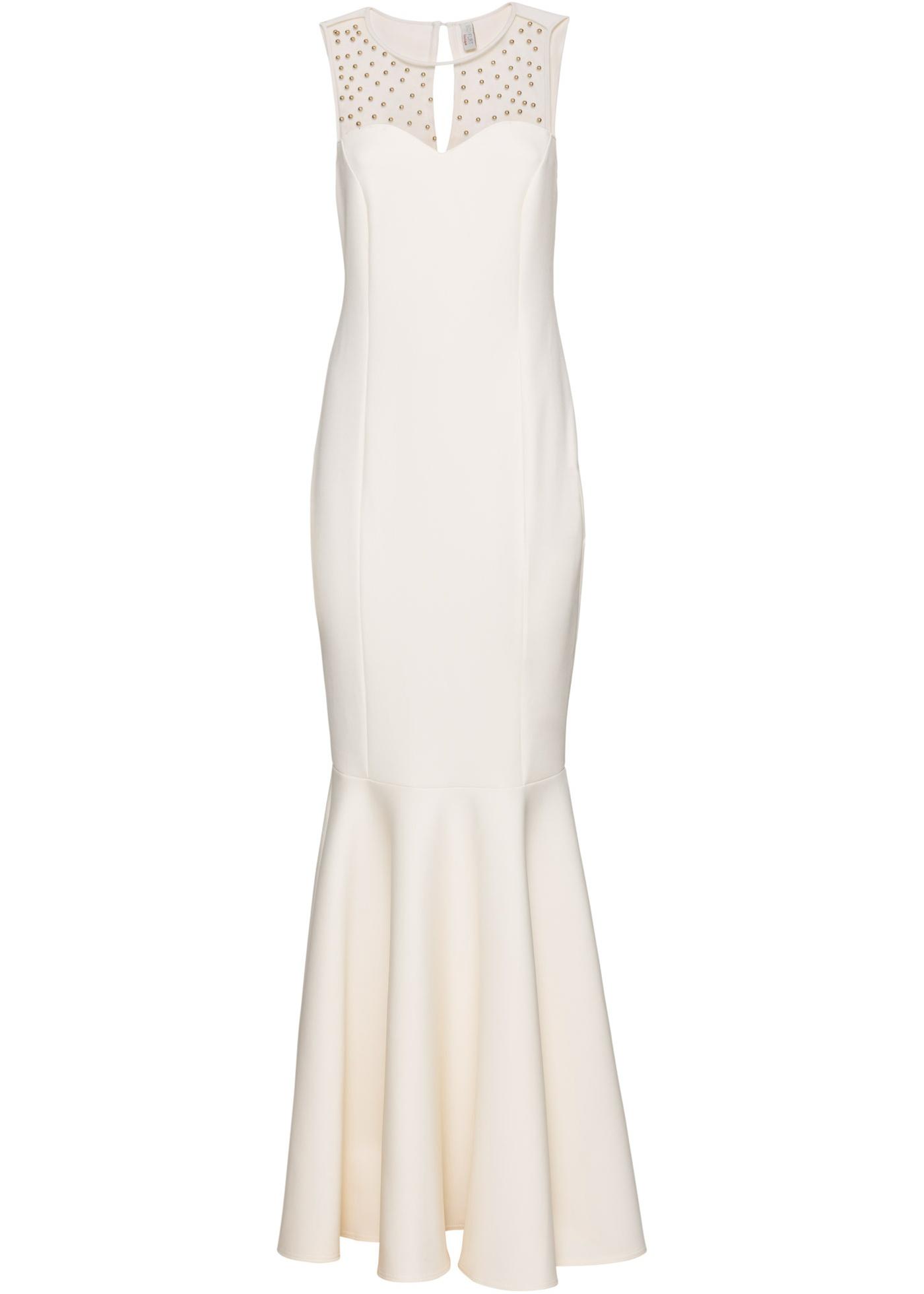 Kjole med broderte perler