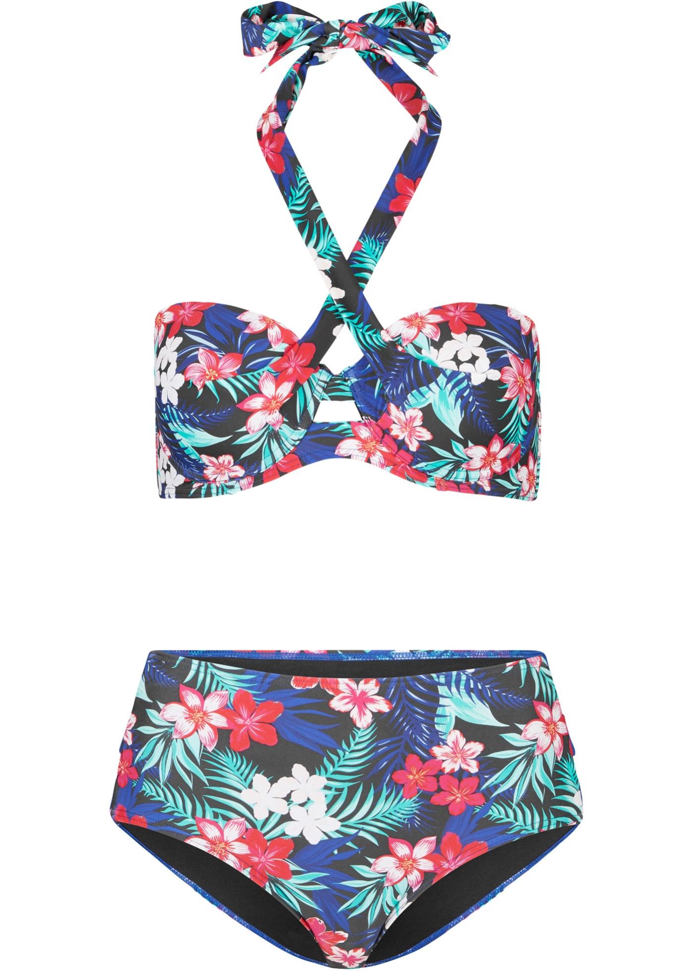 Balconette-bikini med bøyle (2-delt sett)