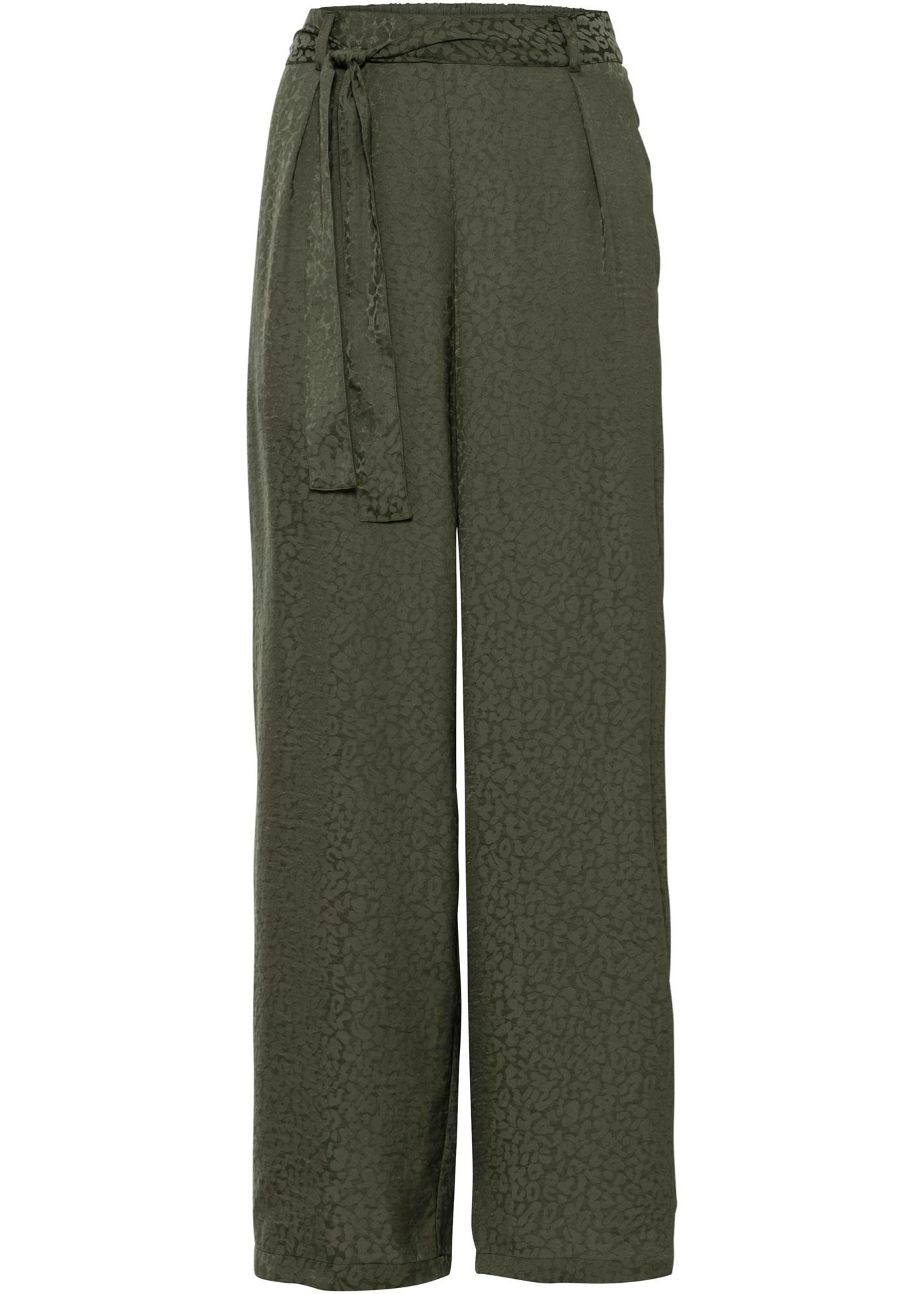 Pull on-bukse med leo-preg