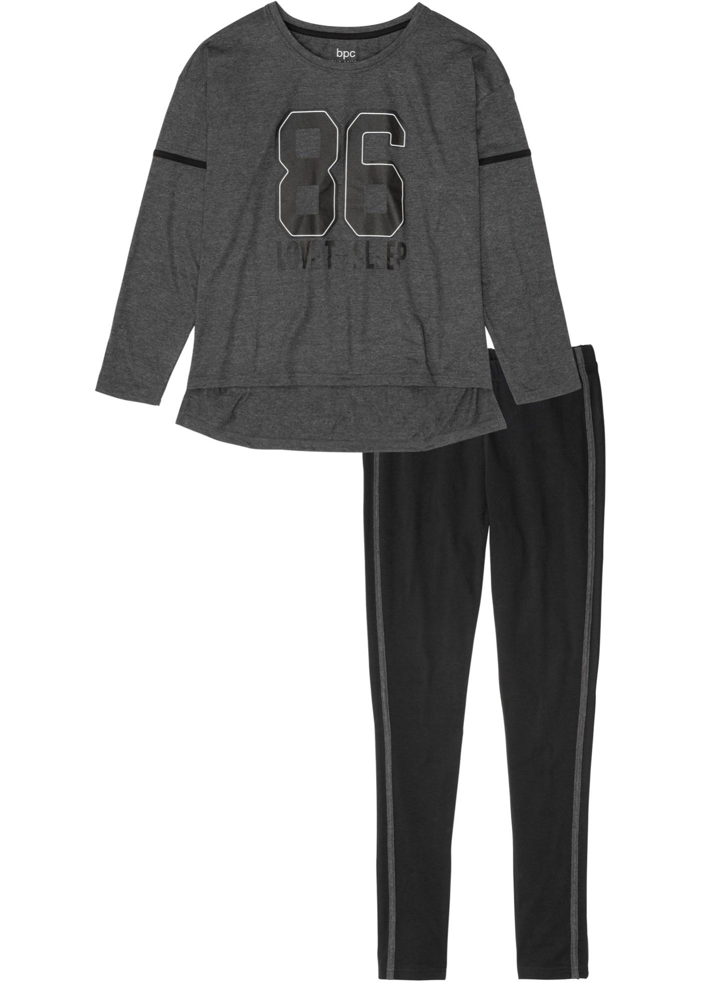 Pyjamas med oversized topp