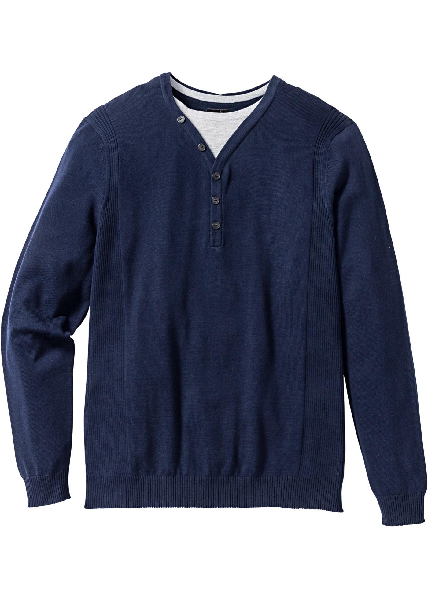 Bilde av 2-i-1 genser, normal passform