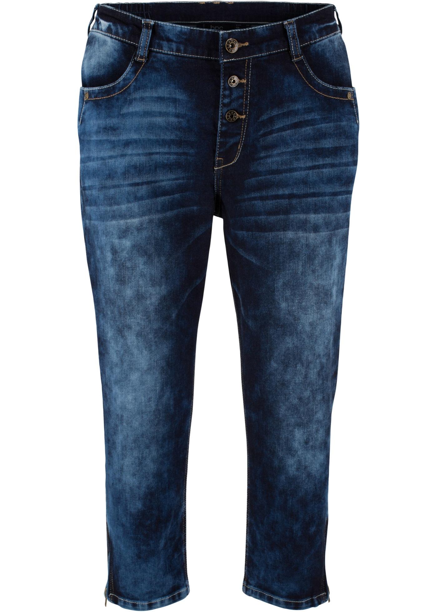 Bilde av 3/4-Boyfriend-jeans med stretch