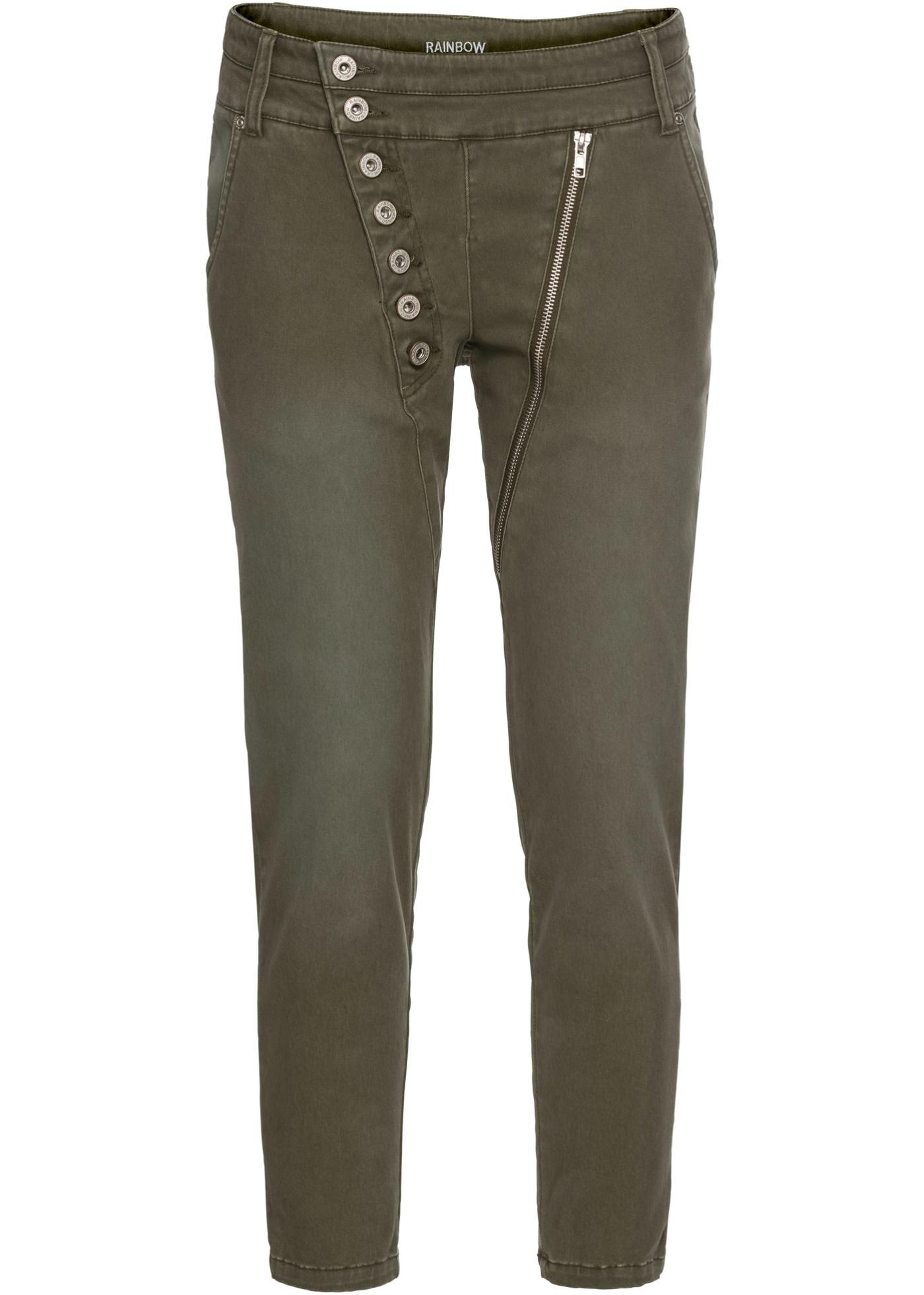 Bilde av 7/8-lang Bukse Med Asymmetrisk Knappelist