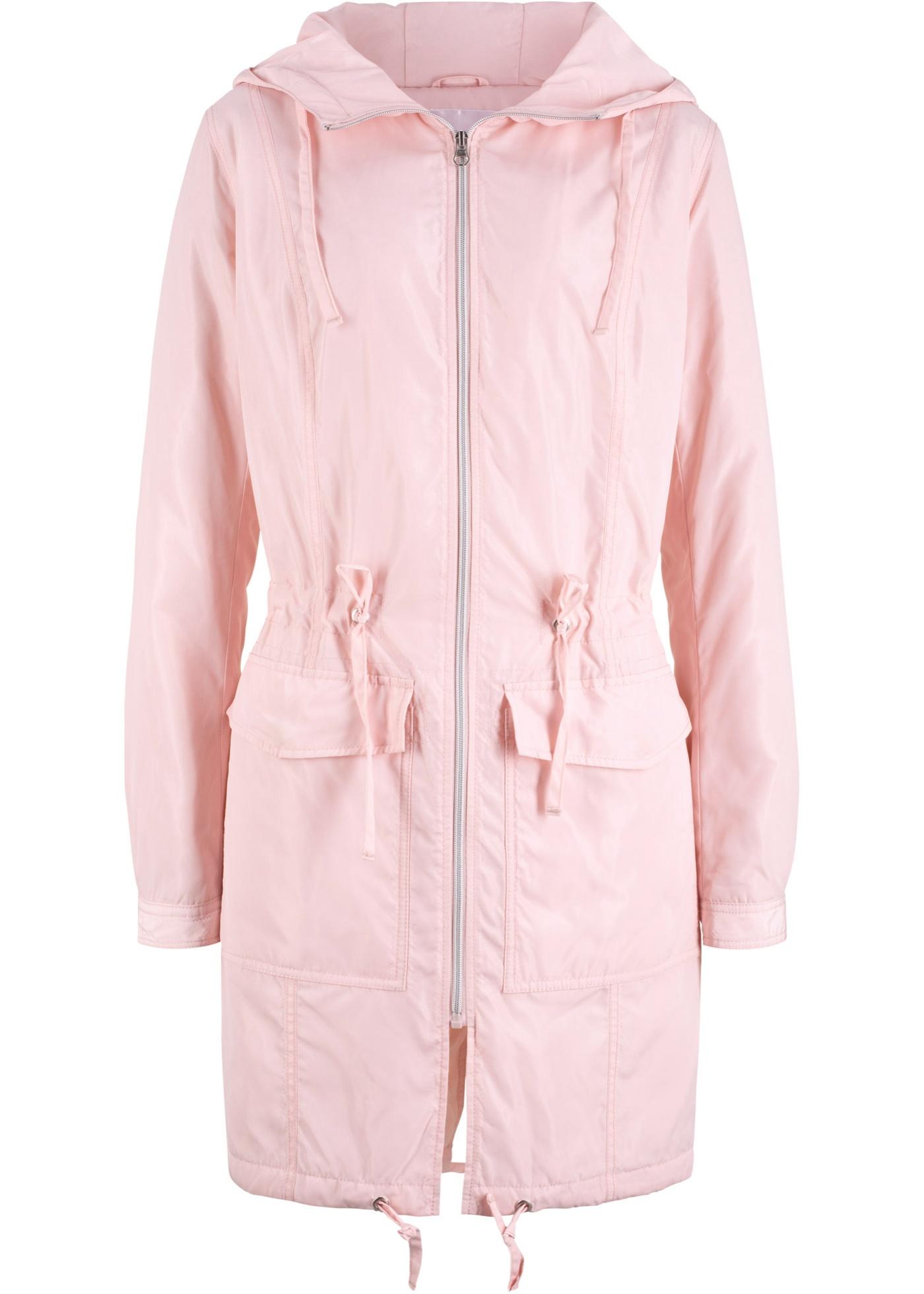 Lett outdoor-jakke med hette