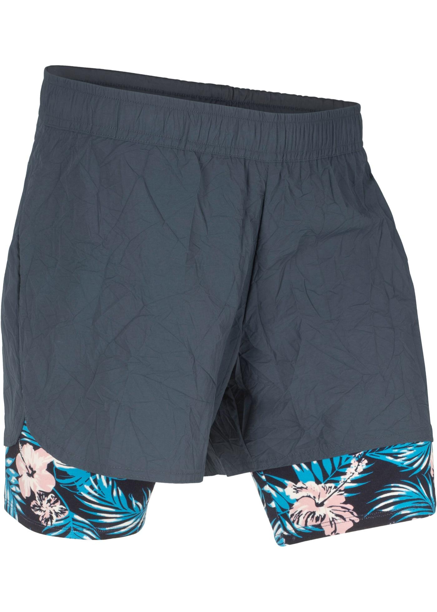 Bilde av 2-i-1-funksjona trenings-shorts