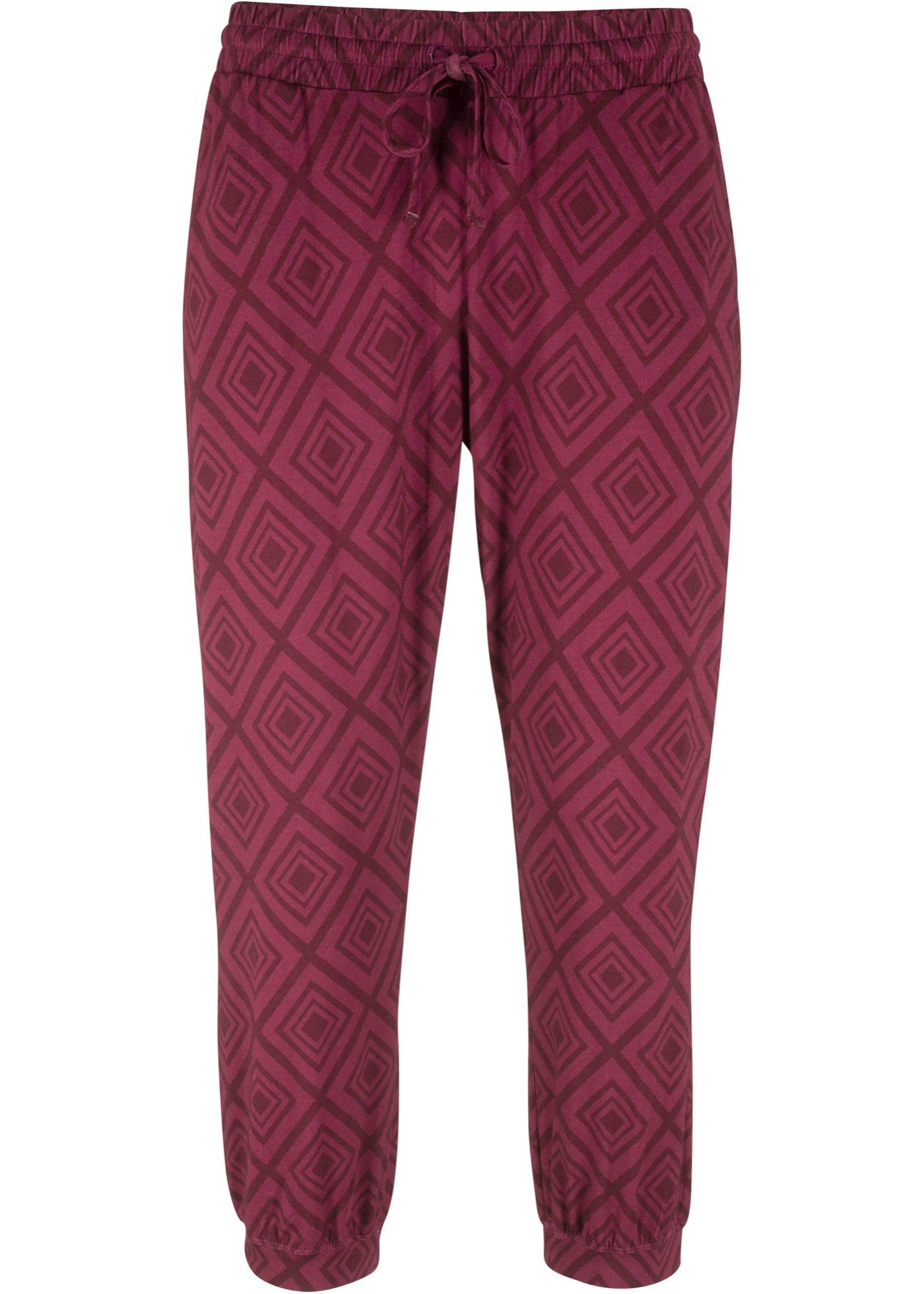 Bilde av 3/4-lang bukse, med trykk