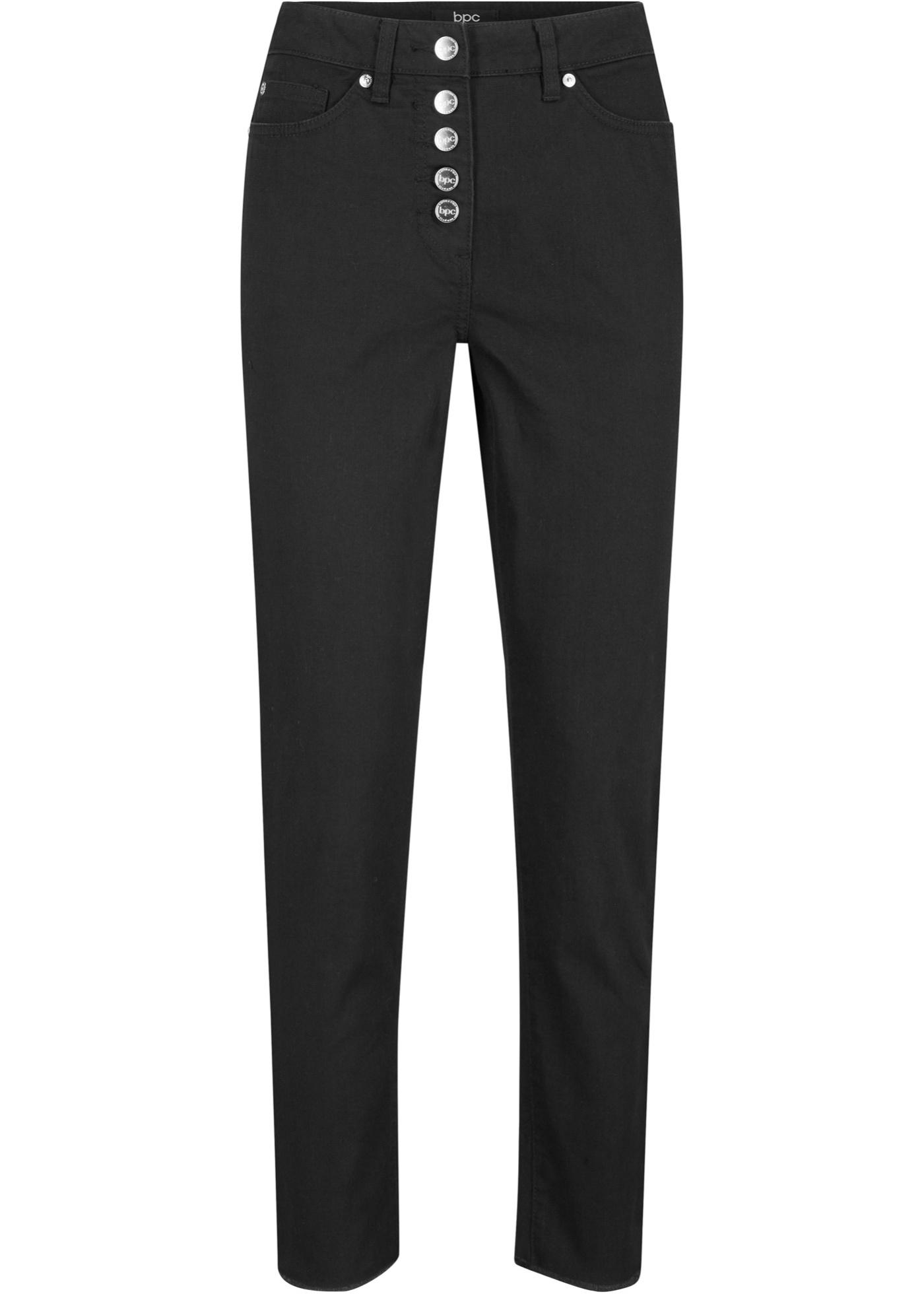 7/8-lang bukse med knappelist