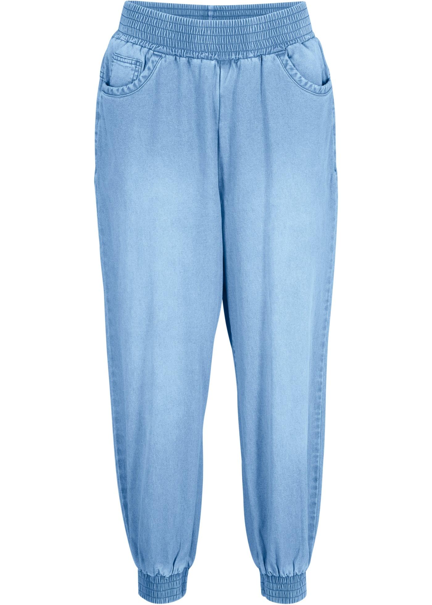 Bilde av 7/8 Jeans Med Behagelig Linning, Loose Fit
