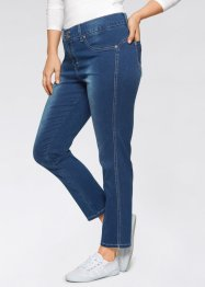 Jeans med stretch, 7/8, smal passform, John Baner JEANSWEAR