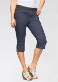 Komfort-stretch capri-jeggings, 2-pack, John Baner JEANSWEAR