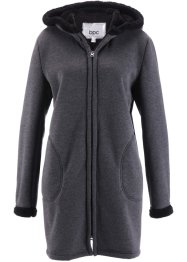 Sweatjakke med teddypels, bpc bonprix collection