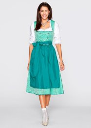 Dirndl med forkle, fotsid, bpc bonprix collection