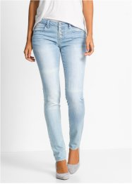Jeans med stretch, used look, BODYFLIRT