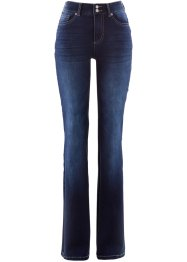 Push up-jeans med elastisk linning, Bootcut, bpc bonprix collection