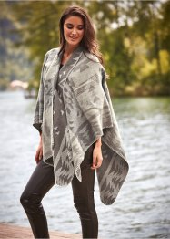 Poncho med  spenne, bpc bonprix collection