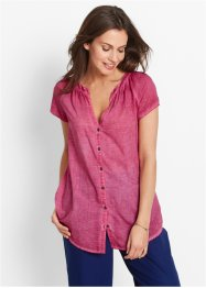 Cold-dyed bluse, halv arm, bpc bonprix collection