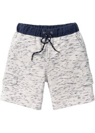 Bermudashorts med kontrastfarget linning., bpc bonprix collection