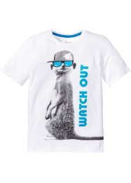 T-shirt med kult trykk., bpc bonprix collection