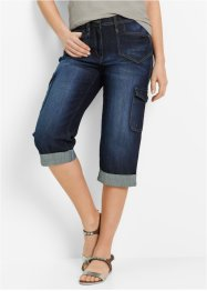 Cargo-Jeans i stretch, i Caprilengde, bpc bonprix collection
