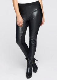 Leggings med skinnoptikk, BODYFLIRT boutique