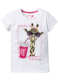 T-shirt med giraff-trykk, bpc bonprix collection