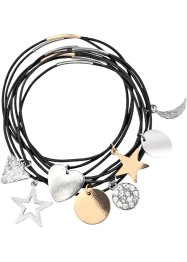 Armband i 8 deler, bicolor, bpc bonprix collection