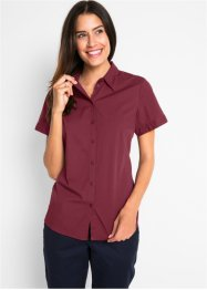 Bluse med stretch, kort arm, bpc bonprix collection
