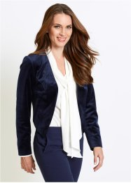 Kort blazer i velour, bpc selection