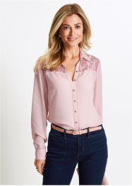 Bluse med blondebesetning, bpc selection