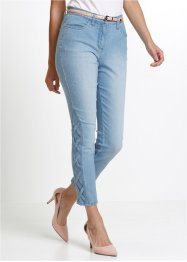 7/8 lang stretchjeans med pynteelement, bpc selection
