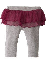 Leggings med tutu i økologisk bomull til baby, bpc bonprix collection