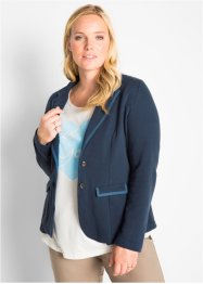 Sweat-blazer, lang arm, bpc bonprix collection