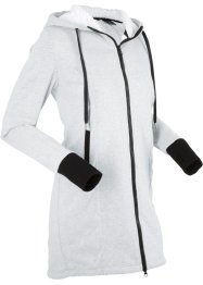 Sweatjakke med koselig fleece, lang arm, bpc bonprix collection