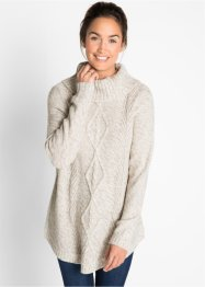 Poncho-genser, lang arm, bpc bonprix collection