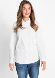 Bluse i stretch-kvalitet, lang arm, bpc bonprix collection
