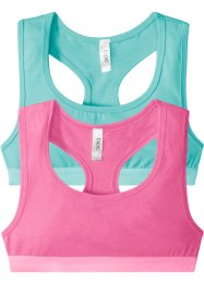 Bustier (2-pakning), bpc bonprix collection