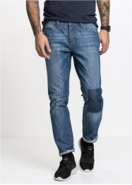 5-pocket Jeans, normal passform, avsmalnende, RAINBOW