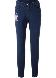 Stretch-jeans med broderi, bpc bonprix collection