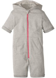 Sweatoverall med hette, bpc bonprix collection