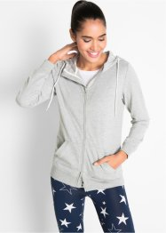 lett sweatjakke, lang arm, bpc bonprix collection