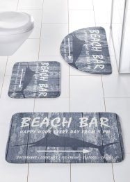 "Badematte ""Beach Bar"", memory-skum, bpc living"