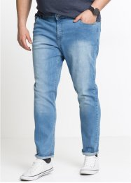 Stretch-Jeans, smal, rett passform, RAINBOW