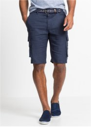 Bermuda i lin Loose Fit, bpc bonprix collection