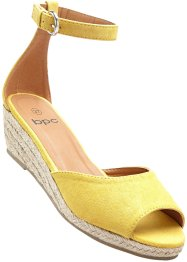 Espadrillos  med kile, bpc bonprix collection