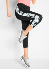 Trenings-leggings, 3/4 lang. Level 1, bpc bonprix collection