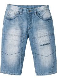 Lang jeans-bermuda, normal passform, RAINBOW