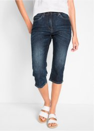 Capri-jeans med stretch, used look, bpc bonprix collection