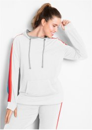 lett sweatshirt med flerfarget tape, lang arm, bpc bonprix collection